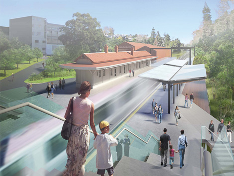 New Parnell Station