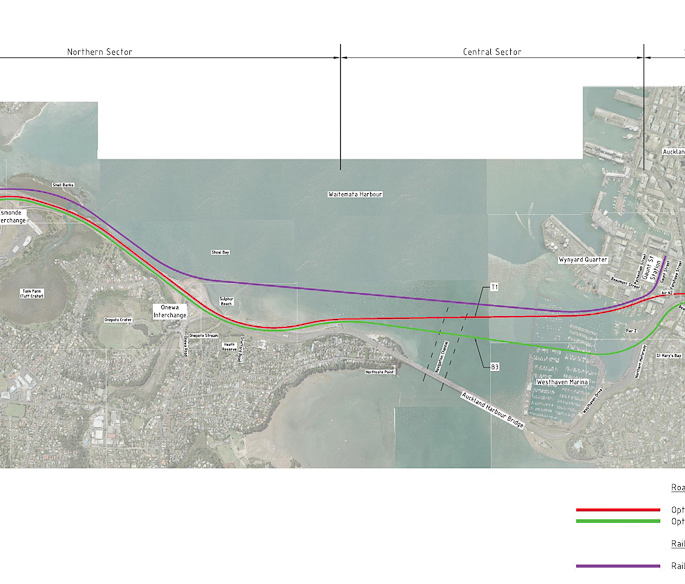 Additional Waitemata Harbour Crossing (AWHC) Studies